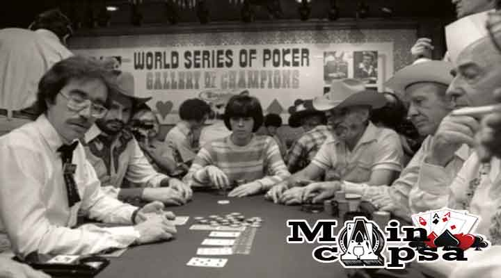 World Series Of Poker di Lax Vegas tahun 1970